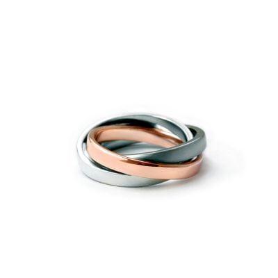 A bespoke ring by jewellery artist Julie Bégin.