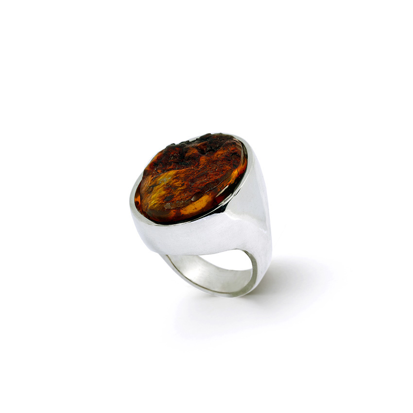 A bespoke ring by jewellery artist Julie Bégin.