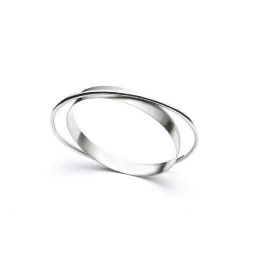 The Wright bracelet from The Modernists collection is handmade by Julie Bégin using pure sterling silver.