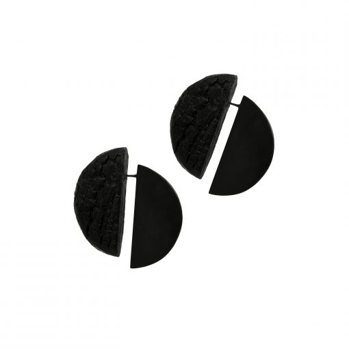 To Steve Reich – Music for 18 Musicians. Earrings, single edition, 2017.