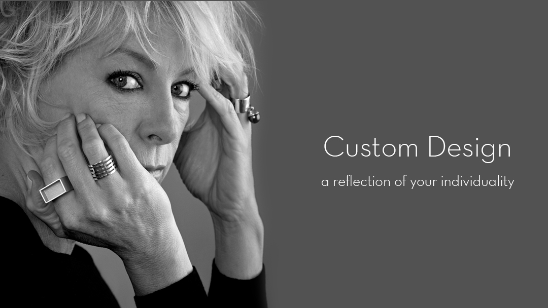 Custom designed jewellery handcrafted by Julie Bégin.